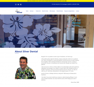 screenshot Silver Dental